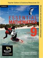 Essential Mathematics for the Australian Curriculum Year 9 Teacher Edition : Essential Mathematics - Rachael Miller