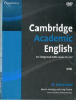 Cambridge Academic English C1 Advanced Class Audio CD and DVD Pack : An Integrated Skills Course for EAP - Martin Hewings