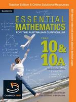 Essential Mathematics for the Australian Curriculum Year 10 Teacher Edition - Jenny Goodman