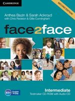 Face2face Intermediate Testmaker CD-ROM and Audio CD - Anthea Bazin