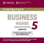 Cambridge English Business 5 Higher Audio Cd - Cambridge ESOL