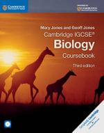 Cambridge IGCSE Biology Coursebook with CD-ROM - Mary Jones