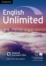 English Unlimited Advanced Coursebook with e-Portfolio and Online Workbook Pack - Adrian Doff
