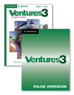 Ventures Level 3 Digital Value Pack (Student's Book with Audio CD and Online Workbook) - Gretchen Bitterlin