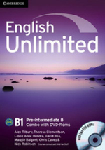 English Unlimited Pre-intermediate B Combo with DVD-ROMs - Alex Tilbury