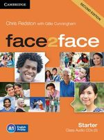 Face2face Starter Class Audio CDs (3) - Chris Redston