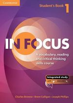 In Focus Level 1 Student's Book with Online Resources - Charles Browne