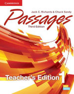 Passages Level 1 Teacher's Edition With Assessment Audio CD/CD-ROM : Level 1 - Jack C. Richards