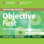 Objective First Class Audio CDs (2) : Objective - Annette Capel