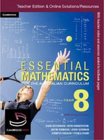Essential Mathematics for the Australian Curriculum Year 8 Teacher Edition - Jennifer Vaughan