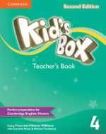 Kid's Box Level 4 Teacher's Book : Level 4 - Lucy Frino
