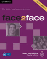 Face2face Upper Intermediate Teacher's Book with DVD - Chris Redston