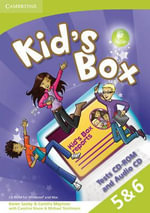 Kid's Box American English Levels 5-6 Tests CD-ROM and Audio CD - Karen Saxby