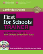 First for Schools Trainer Six Practice Tests with Answers and Audio CDs : Authored Practice Tests - Sarah Dymond