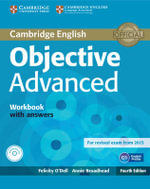 Objective Advanced Workbook with Answers with Audio CD - Felicity O'Dell