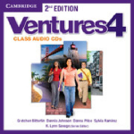 Ventures Level 4 Class Audio CDs : Ventures - Gretchen Bitterlin