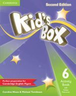 Kid's Box Level 6 Activity Book with Online Resources - Caroline Nixon