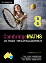 Cambridge Mathematics NSW Syllabus for the Australian Curriculum Year 8 and Hotmaths Bundle - Stuart Palmer