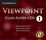 Viewpoint Level 1 Class Audio CDs (4) - Michael J. McCarthy