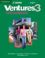 Ventures Level 3 Workbook with Audio CD : Level 3 - Gretchen Bitterlin