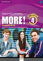 More! Level 4 Student's Book with Cyber Homework and Online Resources - Herbert Puchta