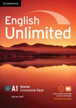 English Unlimited Starter Coursebook with e-Portfolio and Online Workbook Pack - Adrian Doff