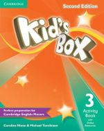 Kid's Box Level 3 Activity Book with Online Resources - Caroline Nixon