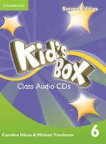 Kid's Box Level 6 Class Audio Cds (4) - Caroline Nixon