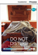Do Not Disturb : The Importance of Sleep High Beginning Book with Online Access - Genevieve Kocienda