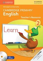 Cambridge Primary English Stage 2 Teacher's Resource Book with CD-ROM - Gill Budgell