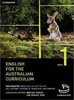 English for the Australian Curriculum Book 1 - Brenton Doecke