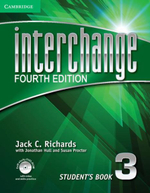 Interchange Level 3 Student's Book with Self-study DVD-ROM - Jack C. Richards