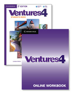Ventures Level 4 Digital Value Pack (Student's Book with Audio CD and Online Workbook) - Gretchen Bitterlin