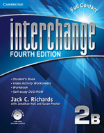 Interchange Level 2 Full Contact B with Self-study DVD-ROM - Jack C. Richards