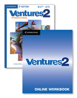 Ventures Level 2 Digital Value Pack (Student's Book with Audio CD and Online Workbook) - Gretchen Bitterlin