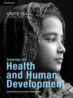 Cambridge VCE Health and Human Development Units 3 and 4 Pack - Sonia Goodacre