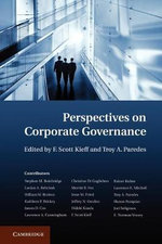 Perspectives on Corporate Governance : Racing to the Top?