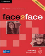Face2face Elementary Teacher's Book with DVD - Chris Redston