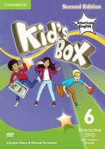 Kid's Box American English Level 6 Interactive DVD (NTSC) with Teacher's Booklet - Caroline Nixon