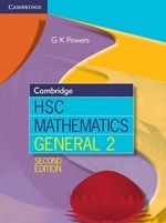 Cambridge HSC Mathematics General 2 - Greg Powers