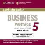 Cambridge English Business 5 Vantage Audio CDs (2) : Bec Practice Tests - Cambridge ESOL