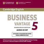 Cambridge English Business 5 Vantage Audio CDs (2) : BEC Practice Tests - Cambridge ESOL