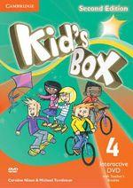 Kid's Box Level 4 Interactive DVD (NTSC) with Teacher's Booklet - Caroline Nixon