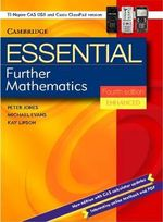 Essential Further Mathematics : Enhanced TIN/CP Version - Peter Jones