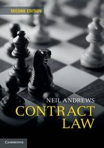 Contract Law - Neil Andrews