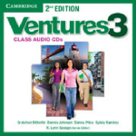 Ventures Level 3 Class Audio CDs : Level 3 - Gretchen Bitterlin