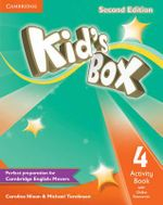 Kid's Box Level 4 Activity Book with Online Resources - Caroline Nixon
