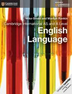 Cambridge International as a Level English Language Coursebook - Mike Gould