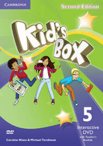 Kid's Box Level 5 Interactive Teacher's Booklet with DVD (NTSC) - Caroline Nixon