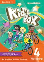 Kid's Box Level 4 Flashcards (Pack of 103) - Caroline Nixon